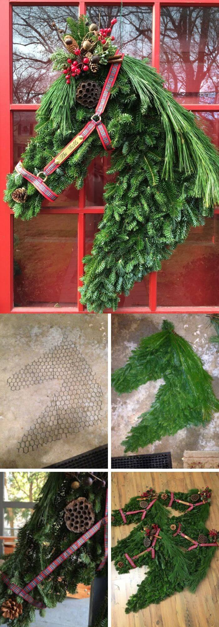 20 Creative Diy Christmas Wreath Ideas Tutorials With Pictures