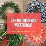 20+ DIY Christmas Wreath Craft Ideas
