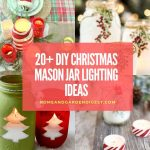 DIY Christmas Mason jar Lighting Craft Ideas