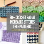 20+ Crochet Radial Increased Stitches Free Patterns