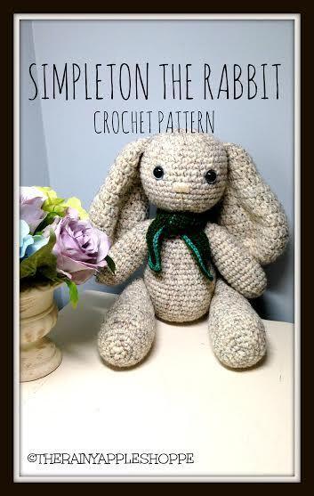Free Crochet Pattern for a Little Amigurumi Bunny, So Adorable! | 557x353