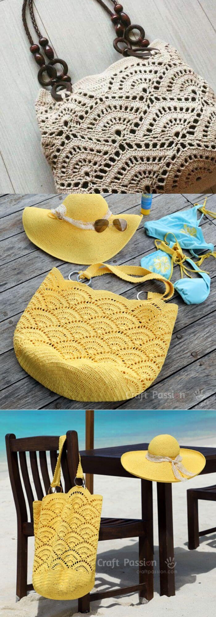 The beach bag pattern