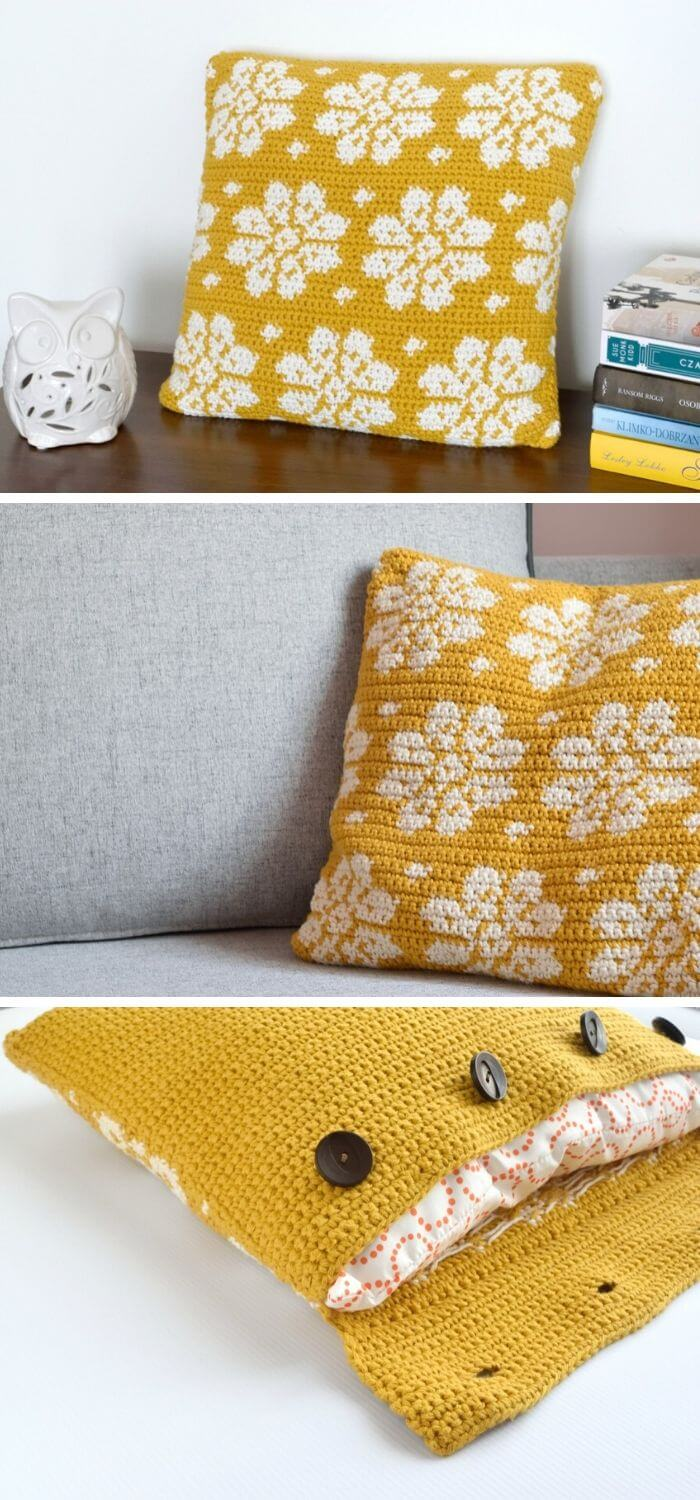 The tapestry cushion cover