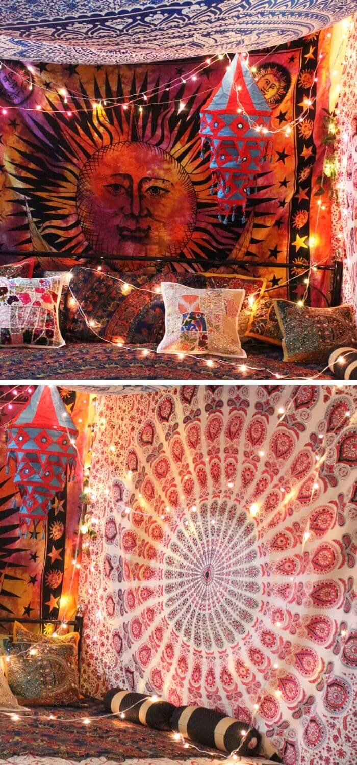 The brilliant tapestry canopy idea