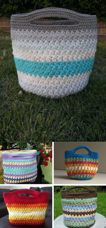 The cluster stitch bag