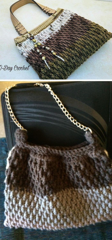 The barista handbag crochet