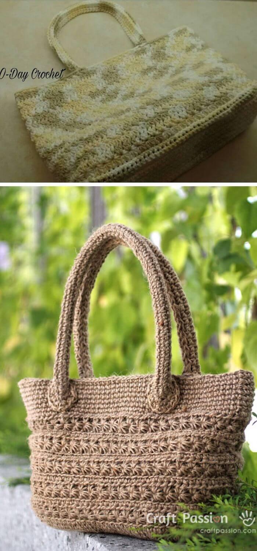 The star stitch summer purse