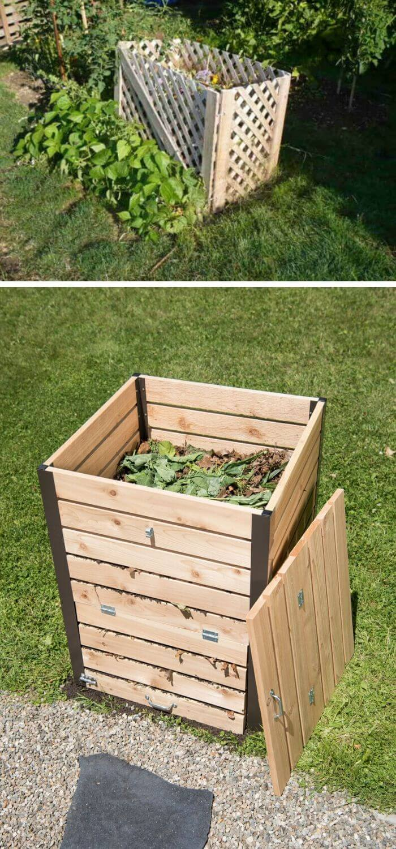 Cedar Compost Bin
