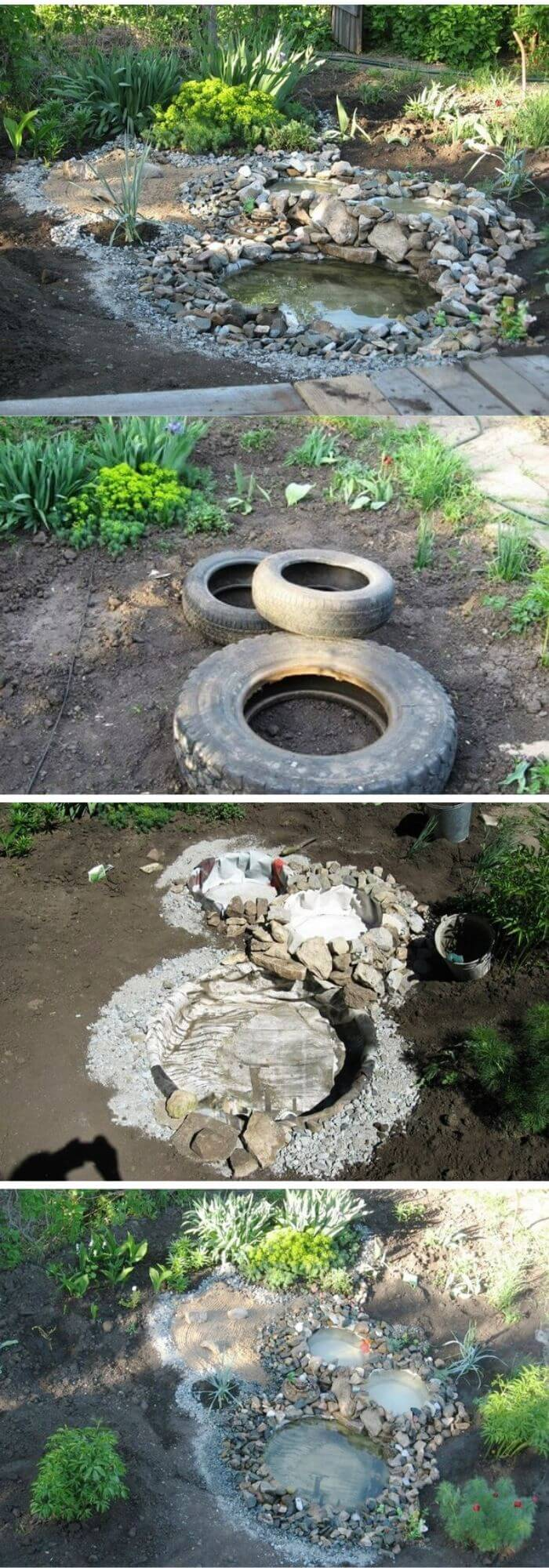 DIY Tire Pond
