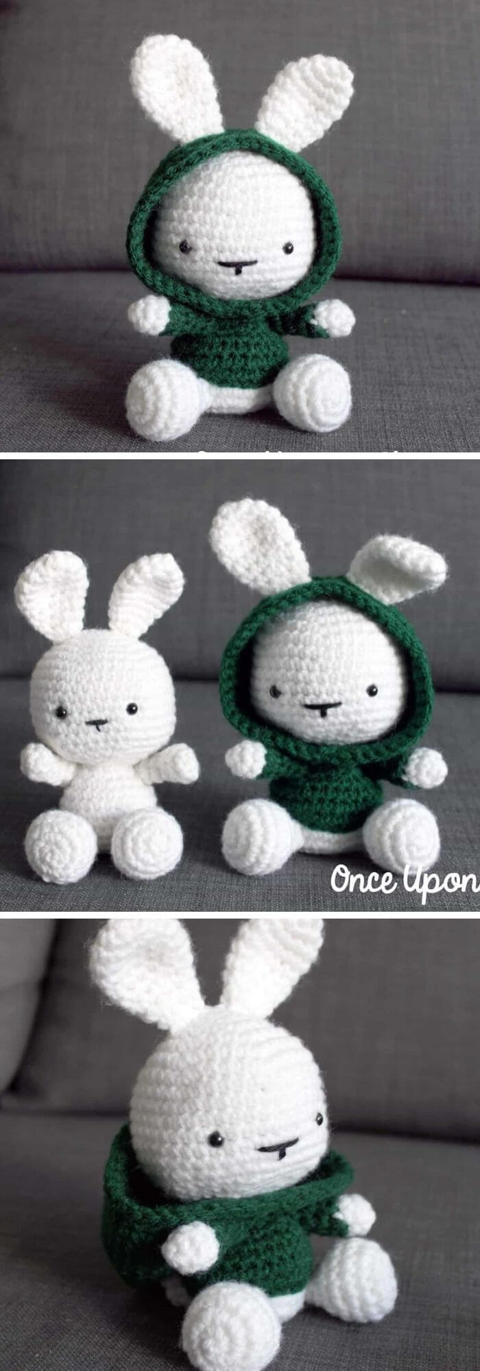 Crochet Amigurumi Bunny Toy Free Patterns Instructions | Easter ... | 2000x700