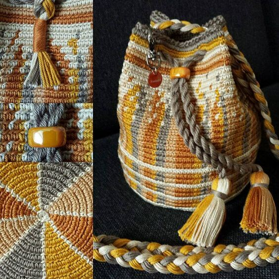 How about this crochet Wayuu bag?