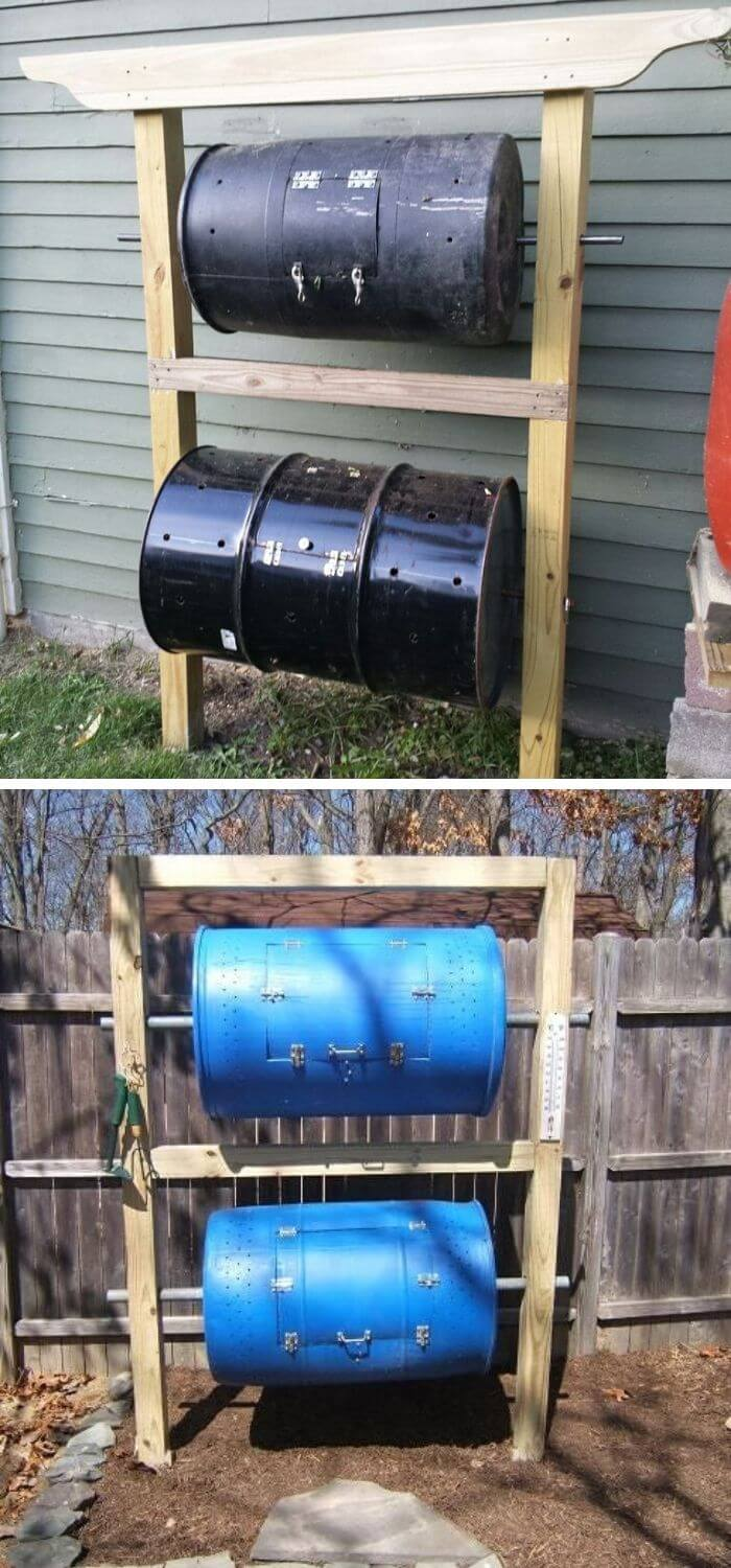 Double Decker Tunable compost Bin