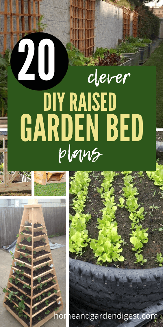 20 Awesome Diy Raised Garden Bed Ideas Plans With Instructions