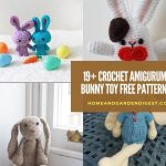 19+ Best Crochet Amigurumi Bunny Toy Free Patterns