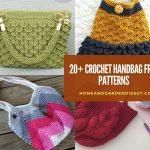 20+ Best Crochet Handbag Free Patterns