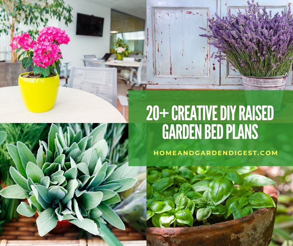 20 Raised Bed Garden Designs And Beautiful Backyard: 20+ Awesome DIY Raised Garden Bed Ideas & Plans (With