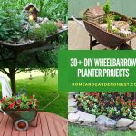 30+ Creative DIY WheelBarrow Garden Projects