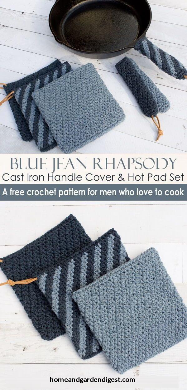 20 Crochet Pot Holder Hotpad Free Patterns For 2021