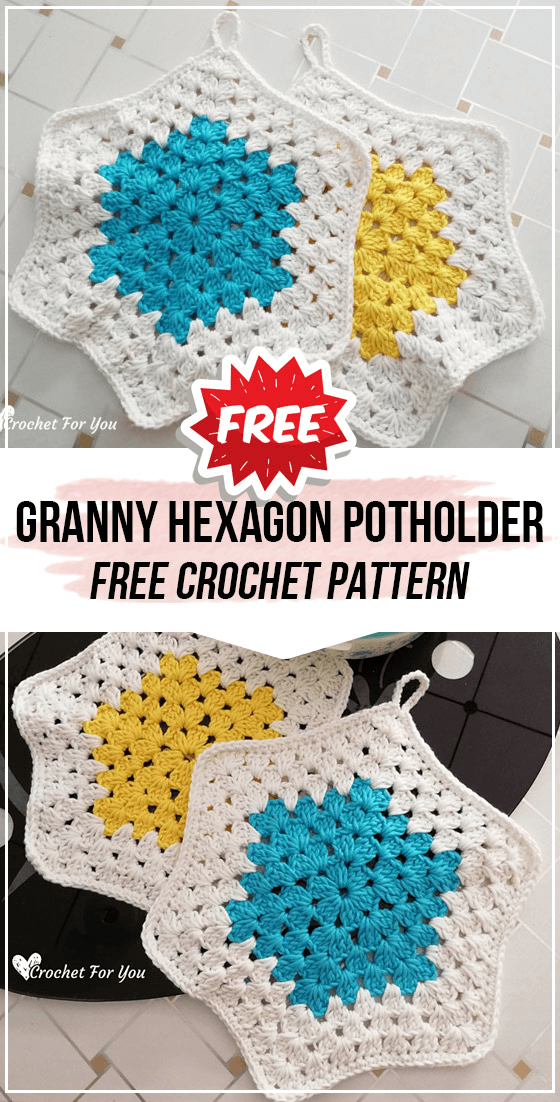 Art in the Kitchen: Crochet Potholders and Hot Pads | 1102x560