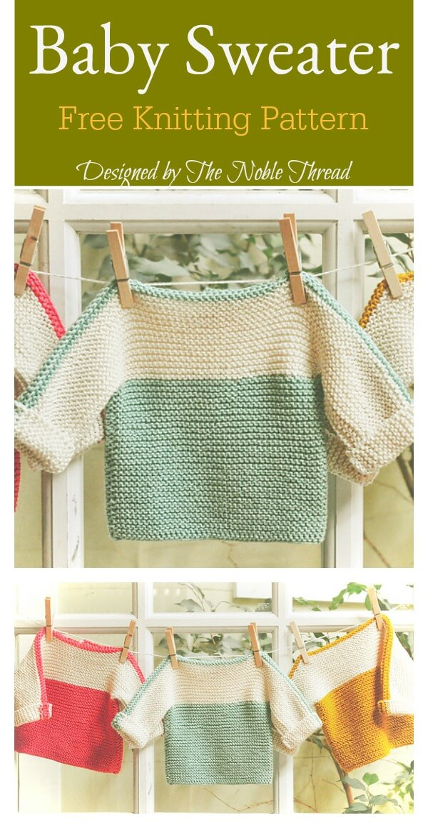 20 Knit Baby Sweater Outwear Free Patterns With Tutorials ...