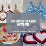 20 Crochet Pot Holder Hotpad Free