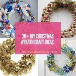 20+ Creative DIY Christmas Wreath Craft Ideas