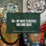 20 DIY Ways to Recycle Bike Rims Ideas