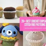 20+ Creative Crochet Cupcake Stitch Free Patterns