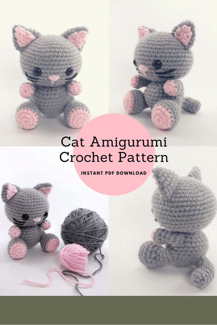 AmiCats crochet patterns! | PlanetJune by June Gilbank: Blog | 1102x735