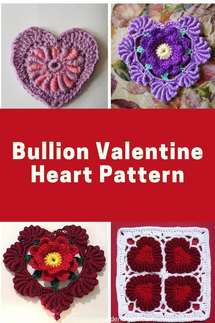 20  Creative Crochet Bullion Stitch Free Patterns  With