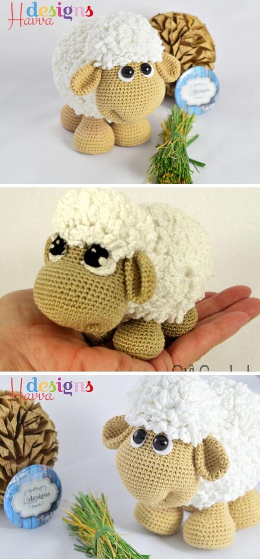Crochet Bobble Sheep Lots Of Gorgeous Free Patterns | 1500x700