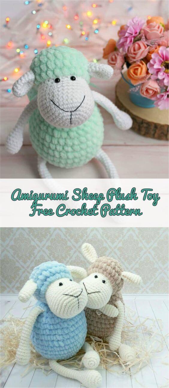 Sheep Mathilde - Free amigurumi pattern - Amigurumi Crochet ... | 1289x564