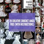 20 Creative Crochet Angel Free Patterns (With Instructions)