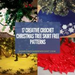 20 Crochet Christmas Tree Skirt Free Patterns