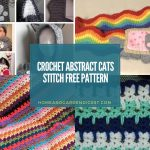 20 Crochet Abstract Cats Stitch Free Pattern