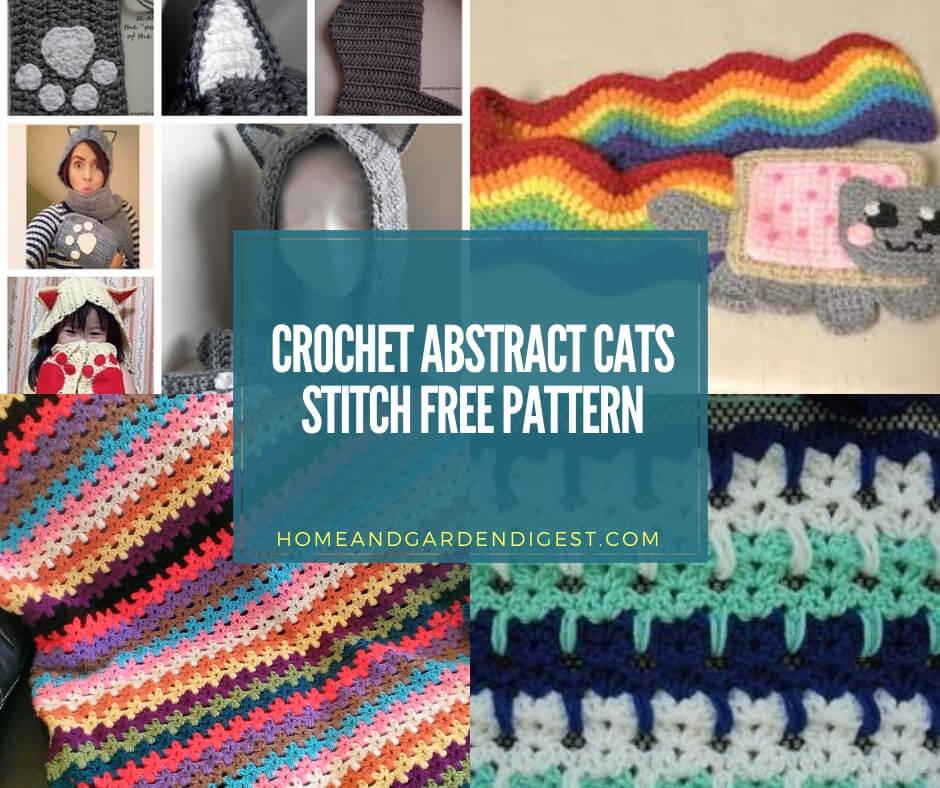 Cat Face Coasters – Free Crochet Pattern   788x940