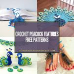 20 Crochet Peacock Features Free Patterns