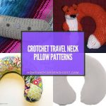 20 Crotchet Travel Neck Pillow Patterns