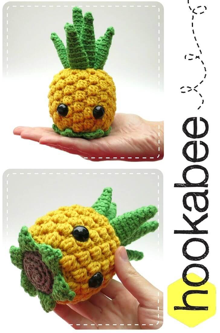 Basket of Fruit E-Book - Amigurumi Crochet Pattern - Digital Download | 1102x728
