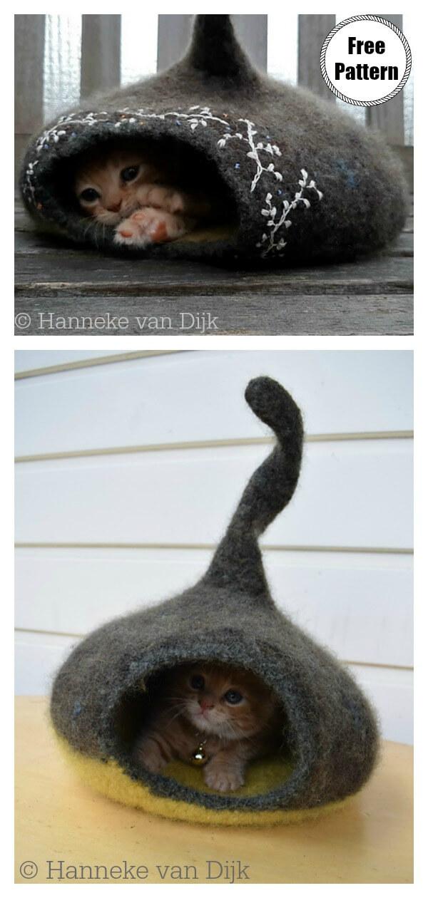 Crochet Your Own Cat Bed – Crochet | 1260x600