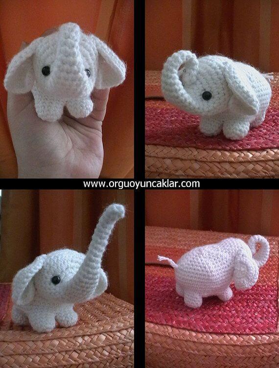 Free Baby Elephant Crochet Pattern | 752x570