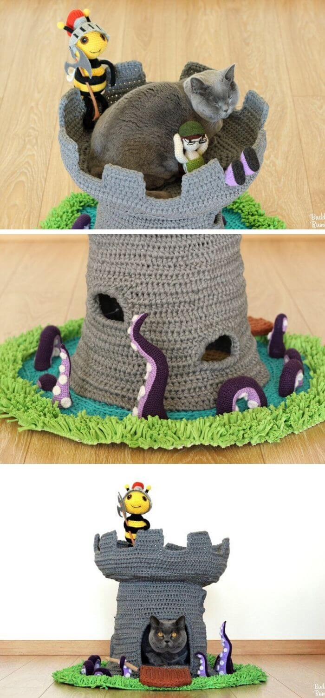 84 Best Cat Cave Patterns images | Cat cave, Crochet cat, Crochet ... | 1500x700