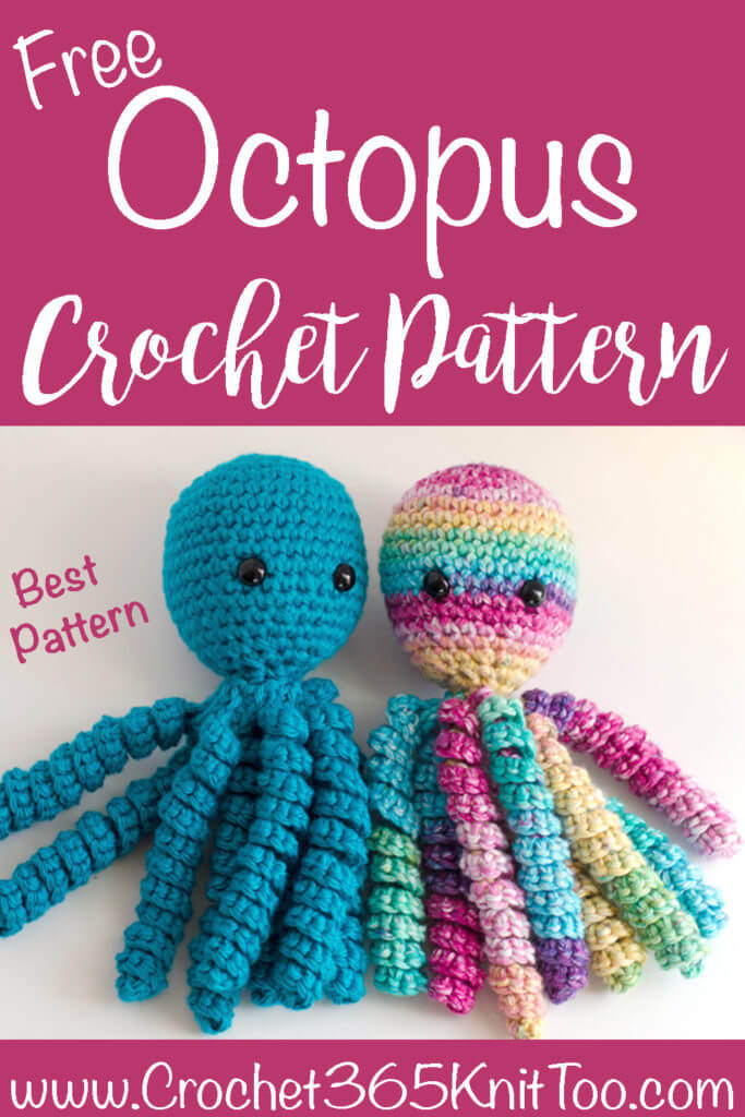 Amigurumi Crochet Sea Creature Animal Toy Free Patterns in 2020 | Crochet  sea creatures, Pet toys, Owl crochet pattern free | 1024x683