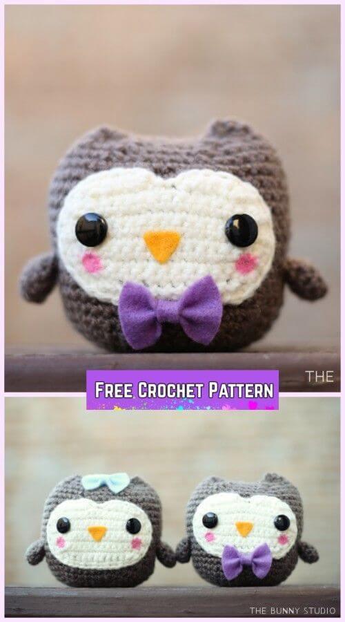 Baby Knitting Patterns PATTERN/ TUTORIAL (English) Amigurumi Owl ... | 900x500