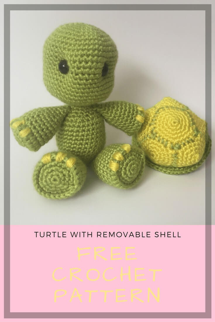 Pattern: Amigurumi Turtle - All About Ami | 1102x735