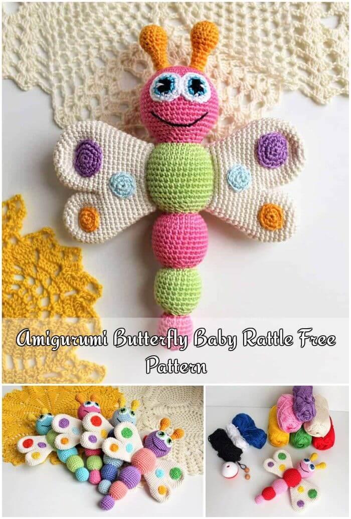 39+ Christmas Crochet Amigurumi Decoration Ideas - Daily Women Blog | 1036x700