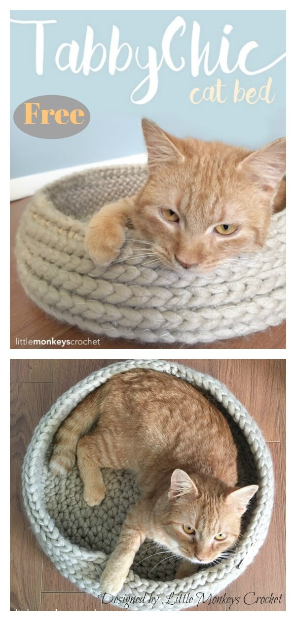 Easy Pet Bed Free Crochet Patterns DIY Instructions | 1260x600