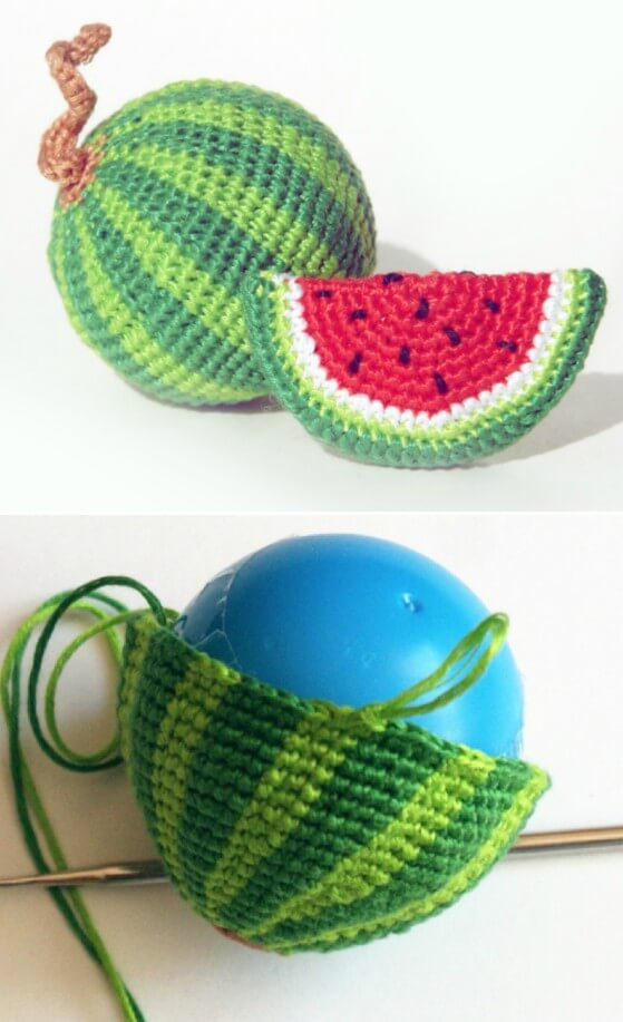 crochet fruits and veggies Archives ⋆ Crochet Kingdom (23 free ... | 917x559