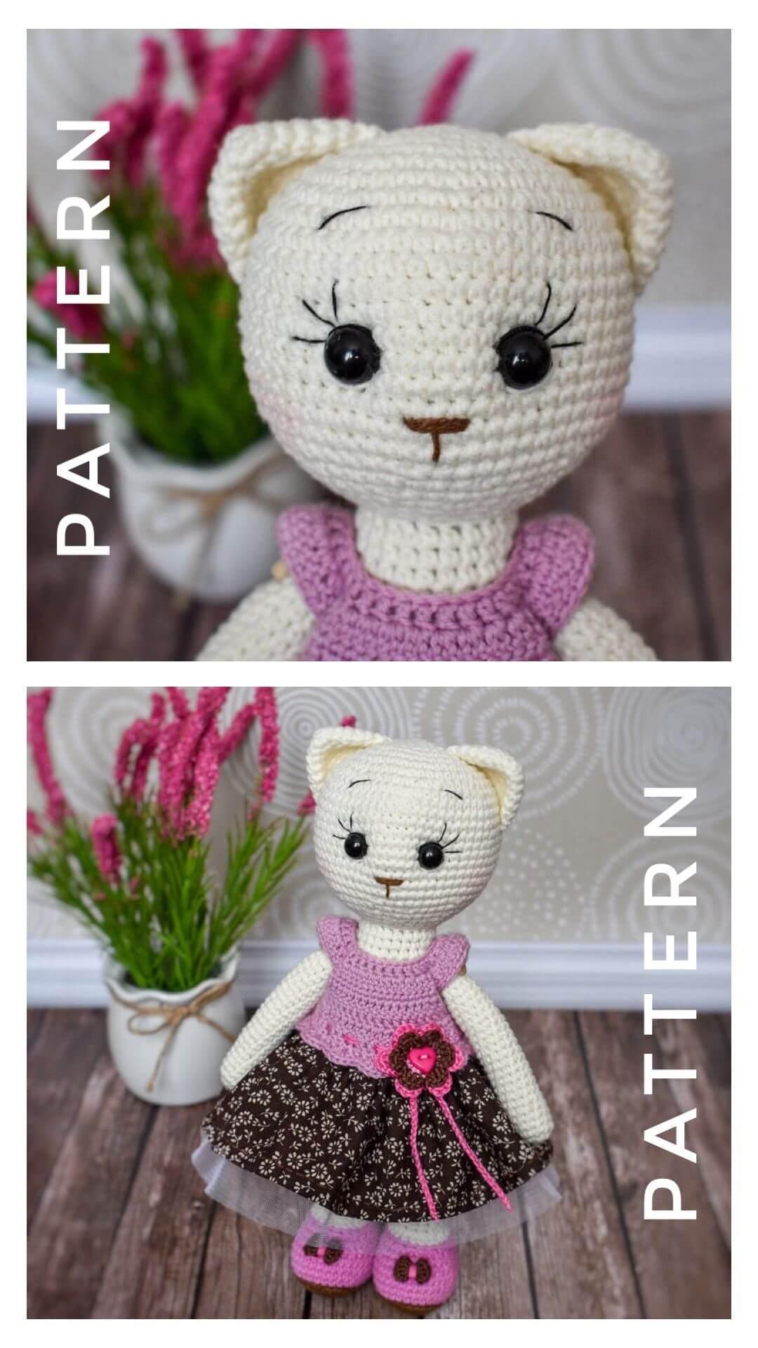 Hello kitty amigurumi free crochet pattern   1920x1080