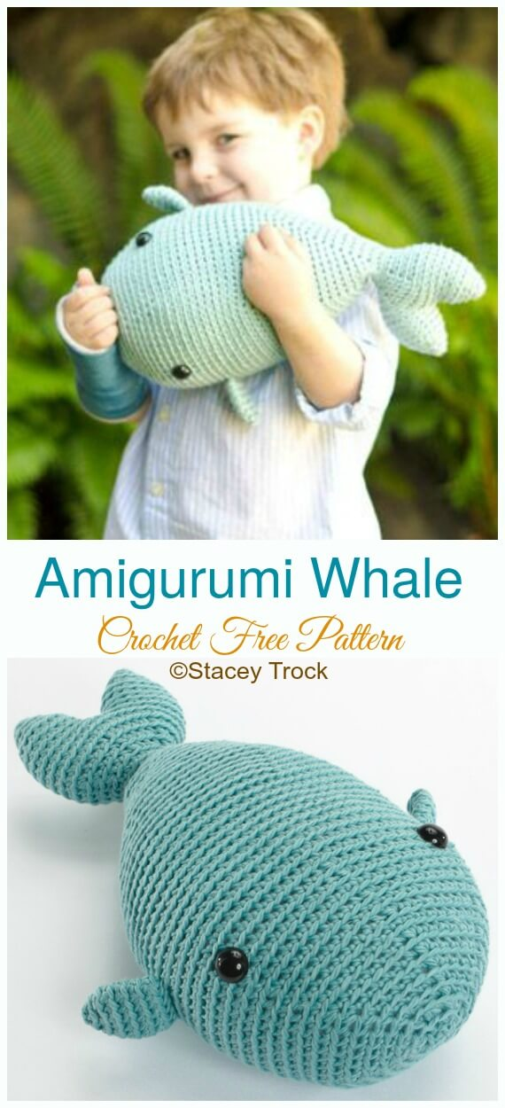 Mini Whale Amigurumi – Free Crochet Pattern #crochet ...   1250x570